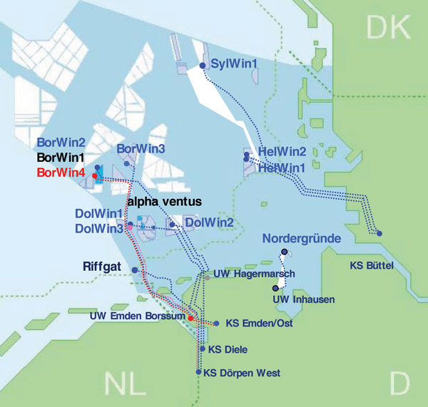 Map Of Germany North Sea.Navigating The North Sea Learning Curve Image458379 Modern Power