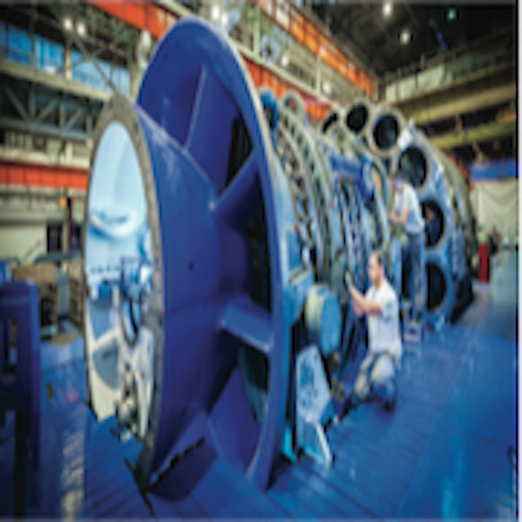 Building Bouchain: lead project for GE's new 9HA gas turbine