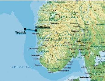 trollfeltet kart Troll A provides a platform for HVDC Light and Motorformer  trollfeltet kart